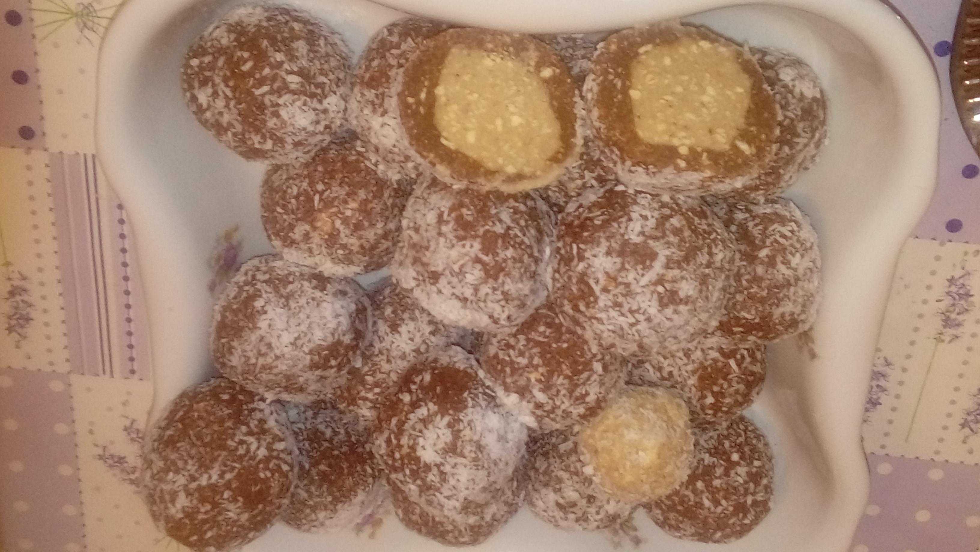 Gesztenyés kekszgolyó
